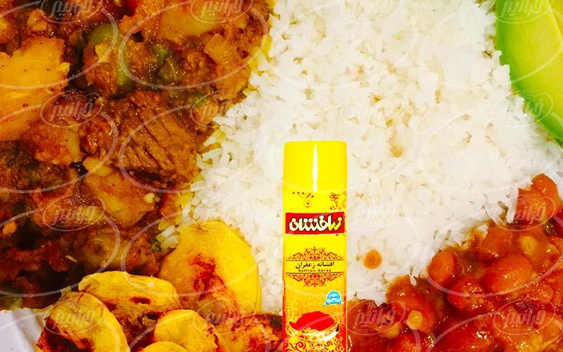 تولید افشانه زعفران ایرانی با برند مشتریان