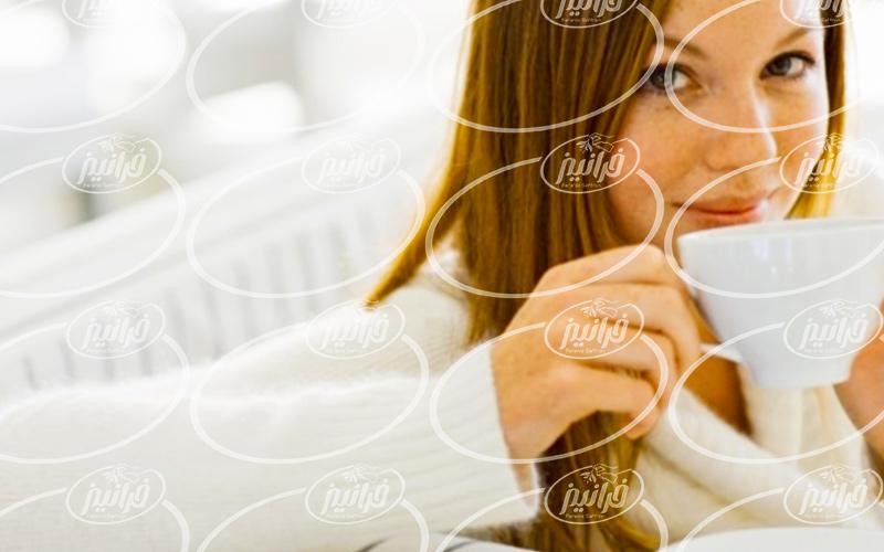 دمنوش زعفران قاشقی