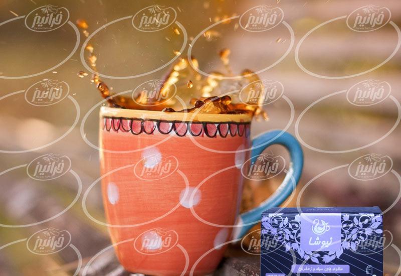 شرکت اصلی چای زعفران نیوشا صادراتی