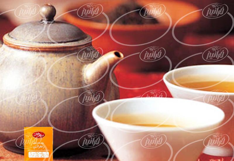 خرید بهترین چای سبز زعفرانی سحرخیز