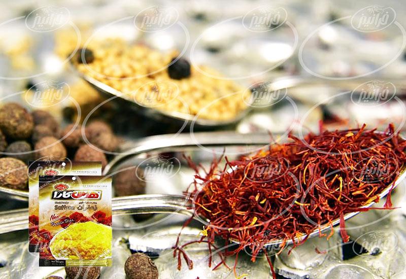 فروش چاشنی زعفران هاتی کارا برای صادرات