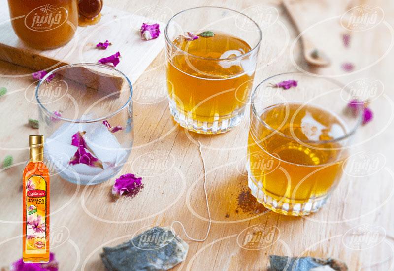 خرید شربت زعفران مصطفوی با بسته بندی شیک