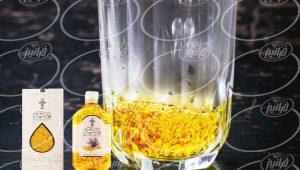 توزیع شربت زعفران پرسیکو با بسته بندی صادراتی