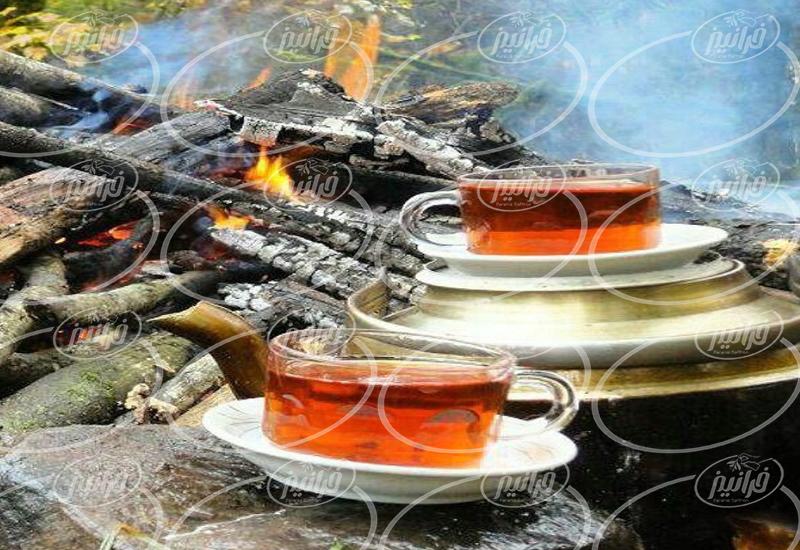 تولید کننده چای زعفرانی تروند در کشور
