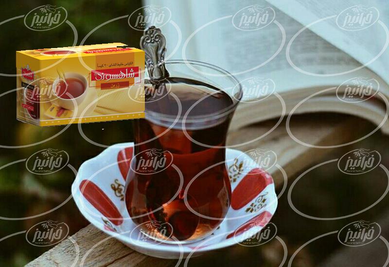 قیمت دمنوش زعفران شاهسوند در سایت جدید