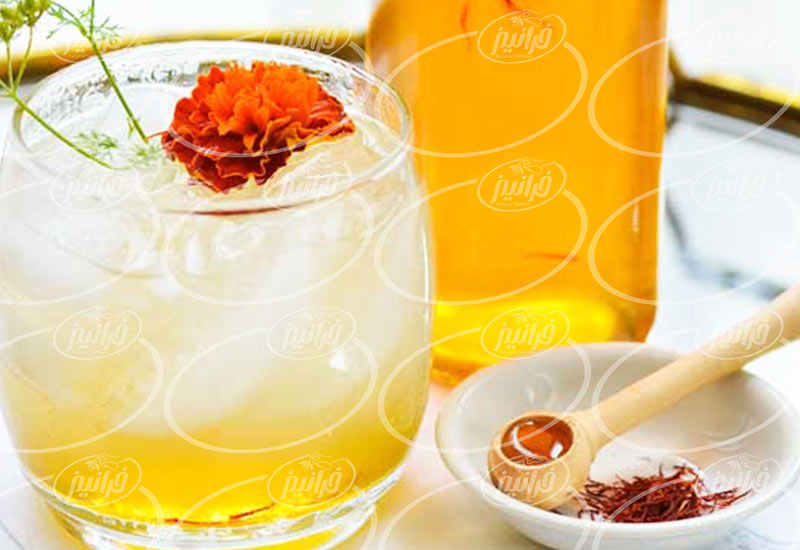 تولید پودر شربت زعفران مخصوص تابستان