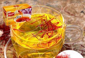 صادرات چای زعفران ادمان به روسیه