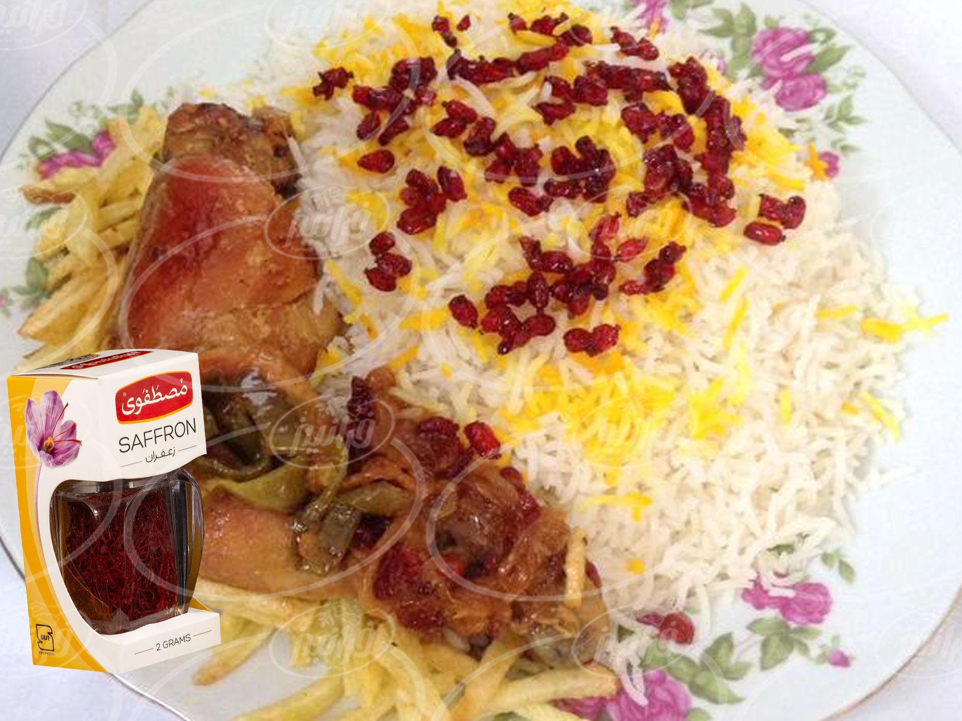 بسته های ویژه هدیه پودر زعفران مصطفوی ایرانی