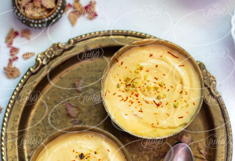قیمت رنگ غذای زعفرانی در بازار گلستان